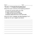Amulet Theme and Main Idea Multiple Choice and Short Respo