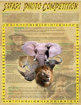 Safari Photo Competition - A Probability Game