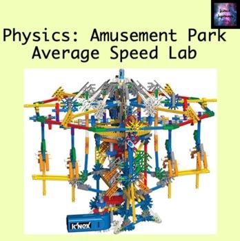 Amusement Park Average Speed Lab