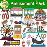 Amusement Park - Carnival Clip Art