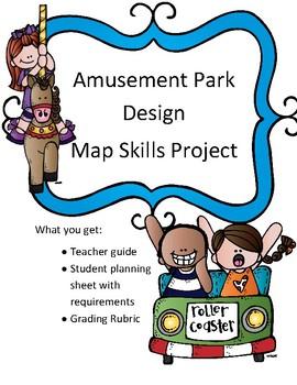 Map Skills Amusement Park Design Project