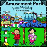 Amusement Park Games-Math and Literacy