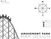 Amusement Park Map Design
