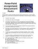 Amusement Park PowerPoint Assignment