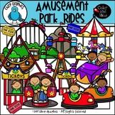 Amusement Park Rides Clip Art Set - Chirp Graphics