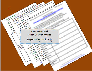 Amusement Park Roller Coaster Physics
