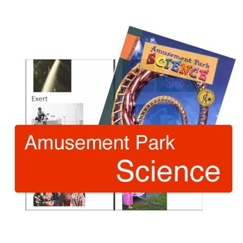 Amusement Park Science - Book vocabulary activities