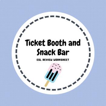 Amusement Park Snack Bar