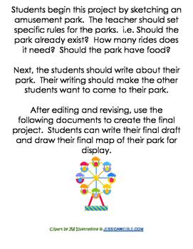Amusement Park Writing