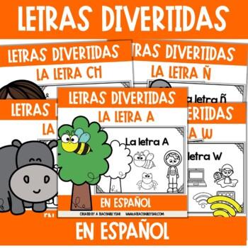 Amusing Alphabet Bundle - Spanish