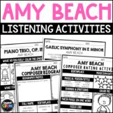 Amy Beach Listening Activities, Classical Music, September Activities