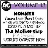 Amy Groesbeck Fonts - Volume Thirteen