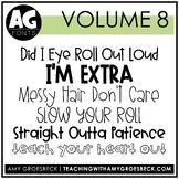Amy Groesbeck Fonts: Volume Eight