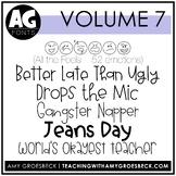 Amy Groesbeck Fonts: Volume Seven