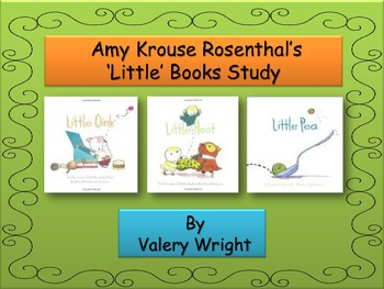 "Amy K. Rosenthal ""Little"" Books Study Math Communication Arts Common Core"