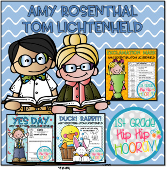 Amy Rosenthal & Tom Lichtenheld Author Study!