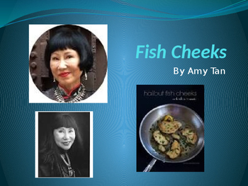 "Amy Tan: ""Fish Cheeks"" Essential Journal Questions"