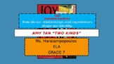 Amy Tan Two Kinds Powerpoint