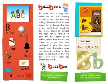 First Sound Fluency - Literacy RTI letter B or Buh - Phone