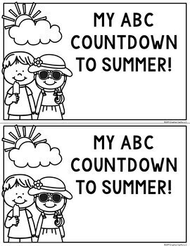 ABC Countdown to Summer - Editable