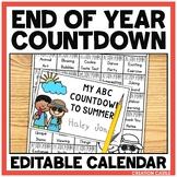 ABC Countdown to Summer - Editable
