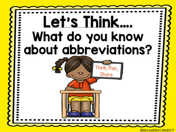 An Abbreviation Education - Titles