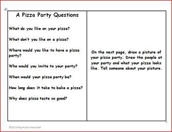An Interactive Book: A Pizza Party