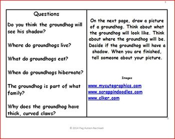 An Interactive Book: What do You Know About a Groundhog?