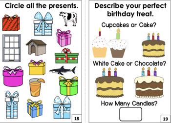 An Interactive Book: On My Birthday!