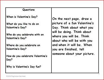 An Interactive Book: Valentine's Day