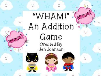 An Addition Game- WHAM!