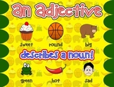 An Adjective Poster
