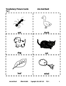 Modals can & can't - Ant And Duck - An Aesop's Fable for ELL, ESL, ELD, & EFL