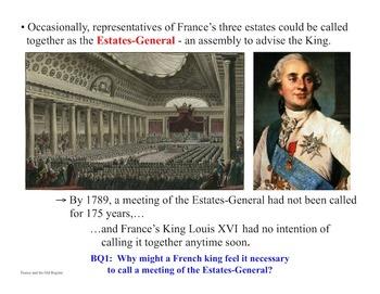 French Revolution & Napoleon Bonaparte - 21 Day Unit - Pow