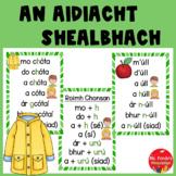 An Aidiacht Shealbhach (Gaeilge) mo, do.... poster set