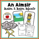An Aimsir - Irish worksheets for Junior and Senior Infants