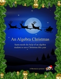 An Algebra Christmas (A Night Before Christmas Algebra Review Parody)