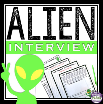 HALLOWEEN WRITING ACTIVITY: ALIEN INTERVIEW