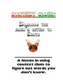 An Alien's Letter to Santa: Context Clues Practice Activity