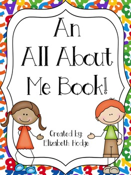 An All About Me Book!