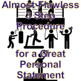 An Almost Flawless 3 Step Procedure for a Great Personal S