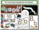 An Alpha-pillar ABC Craft: The Very Hungry Caterpillar Eats The Alphabet!