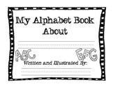 An Alphabet Book Template