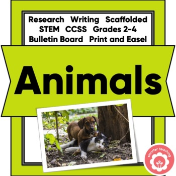 Animal Research: A Scaffolded Unit