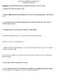 An American Childhood by Annie Dillard - 10 Comprehension