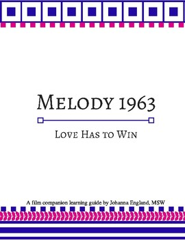 """""""An American Girl Story - Melody 1963"""" Civil Rights Movement Film Study"""