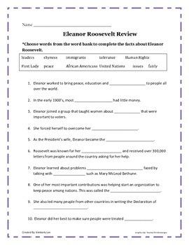 An American Hero-Eleanor Roosevelt