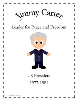 An American Hero-Jimmy Carter Vocabulary and Comprehension Test