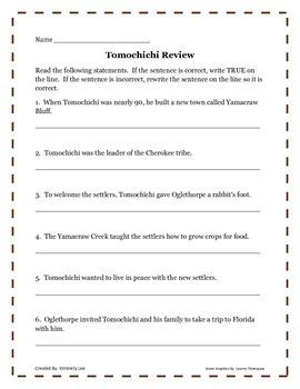 An American Hero-Tomochichi
