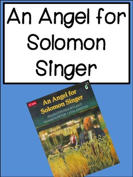 An Angel For Soloman Singer by Cynthia Rylant